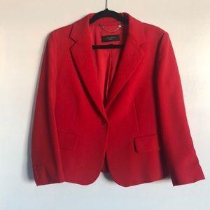 Max Mara 3/4 length Red Blazer. Size 12